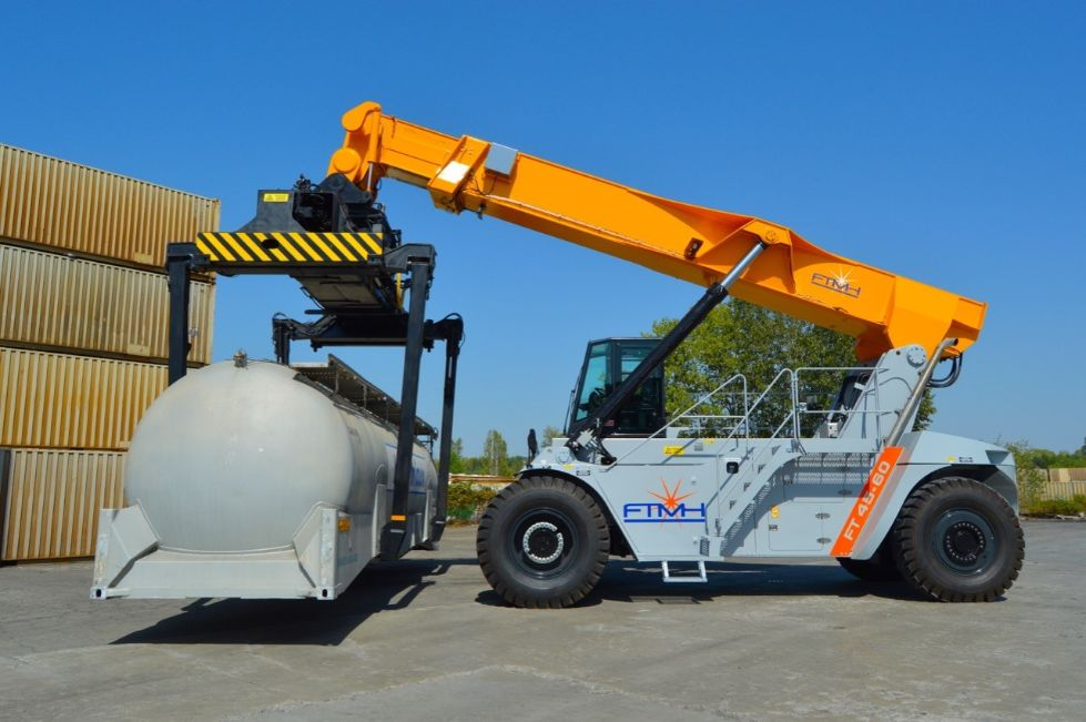 Reach Stacker FT4560HPB for full containers & swap bodies