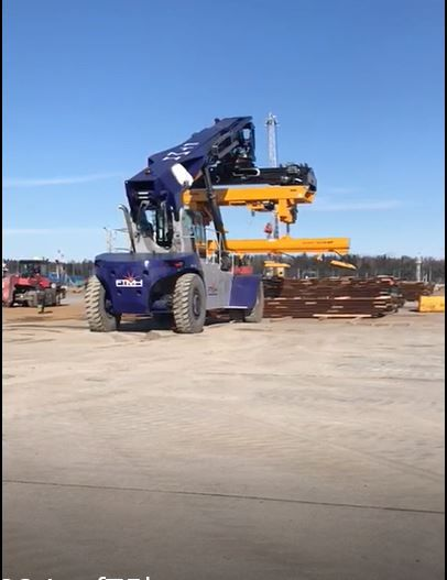 Reach Stacker FT4575 for full containers
